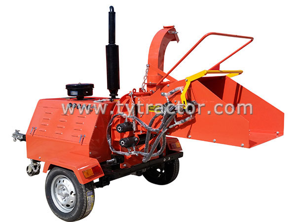 Self-Propelled Wood Chippers