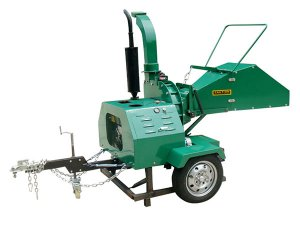 Self-powered Wood Chipper