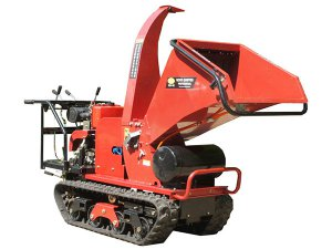 Self-propelled Wood Chipper