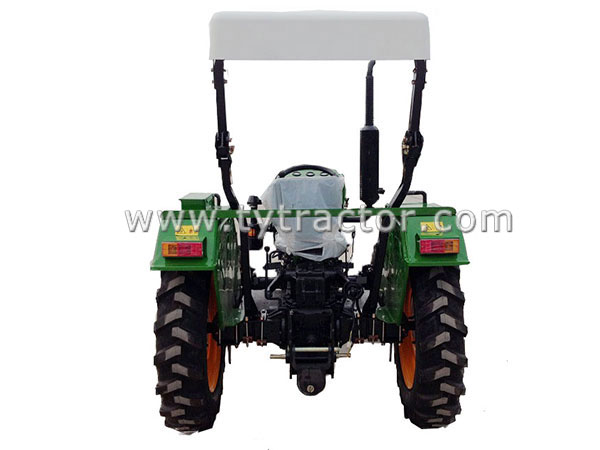 Green TY Tractor-4WD
